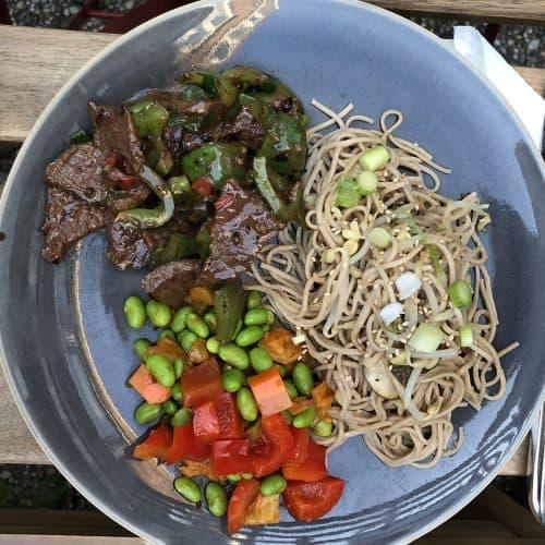 Chinese wok met biefstuk